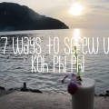 koh phi phi travel tips