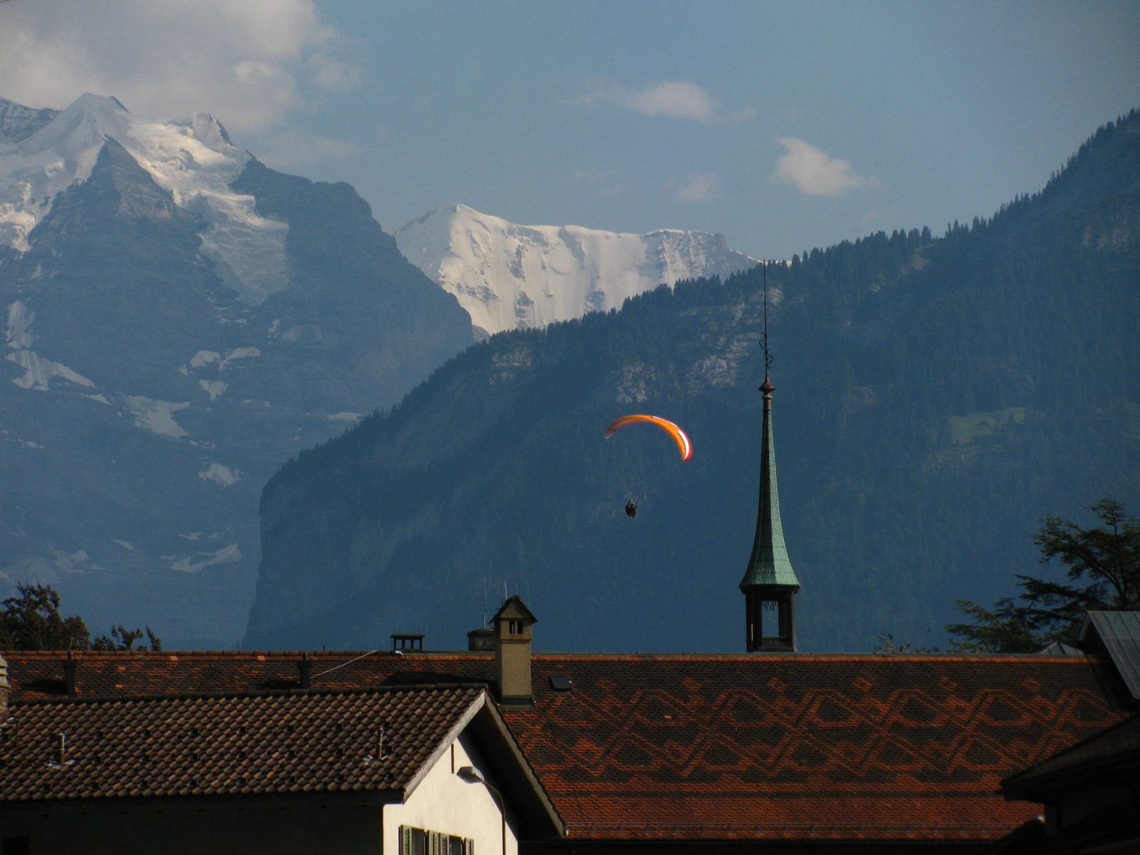 is interlaken too touristy, switzerland, interlaken, lakes, outdoor adventure, hang gliding, canyoning