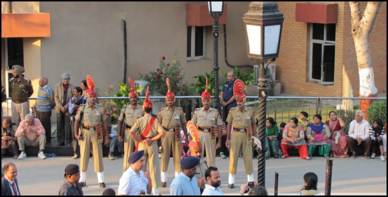 wagah border india pakistan amritsar