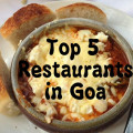 top 5 restaurants in Goa