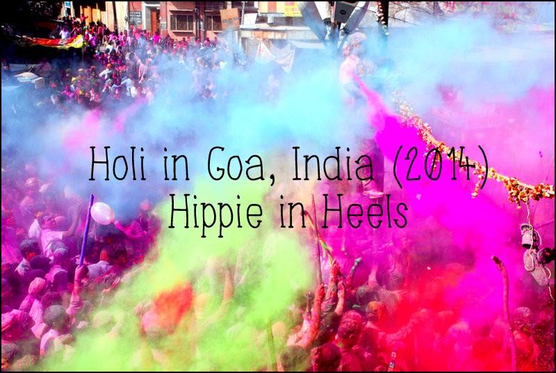 holi goa india
