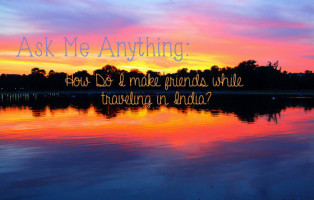 meeting travelers in india