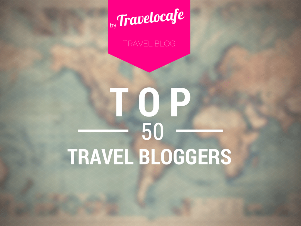 top 50 travel bloggers