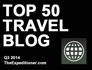top 50 travel blogs by traffic