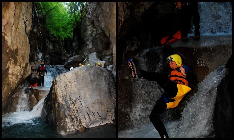 canyoning saxeteen interlaken