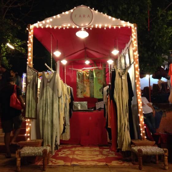 fara boutique goa saturday night market