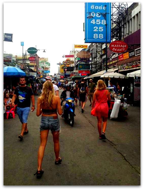 thailand, bangkok, lodging, where to stay in bangkok, sukhumvit, khaosan road, khao san road