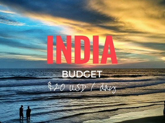 Your Backpacking India Budget: 20 USD per day