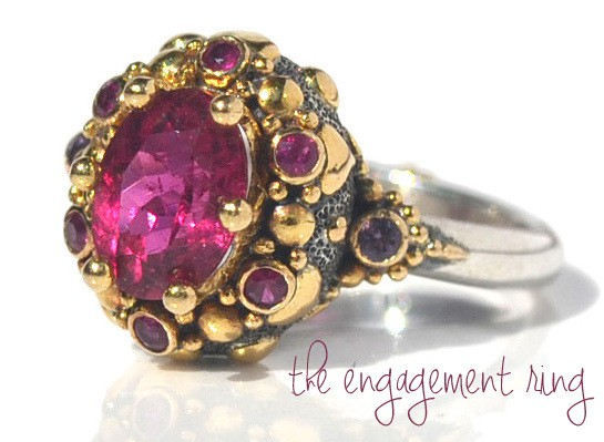rachel FARA engagement ring