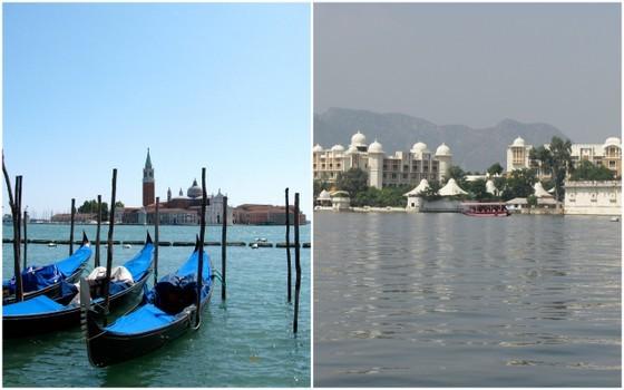 13 European Cities in India, europe in india