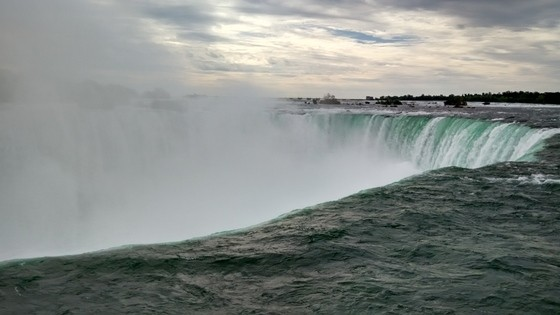 how to stop at niagara falls from toronto to ohio