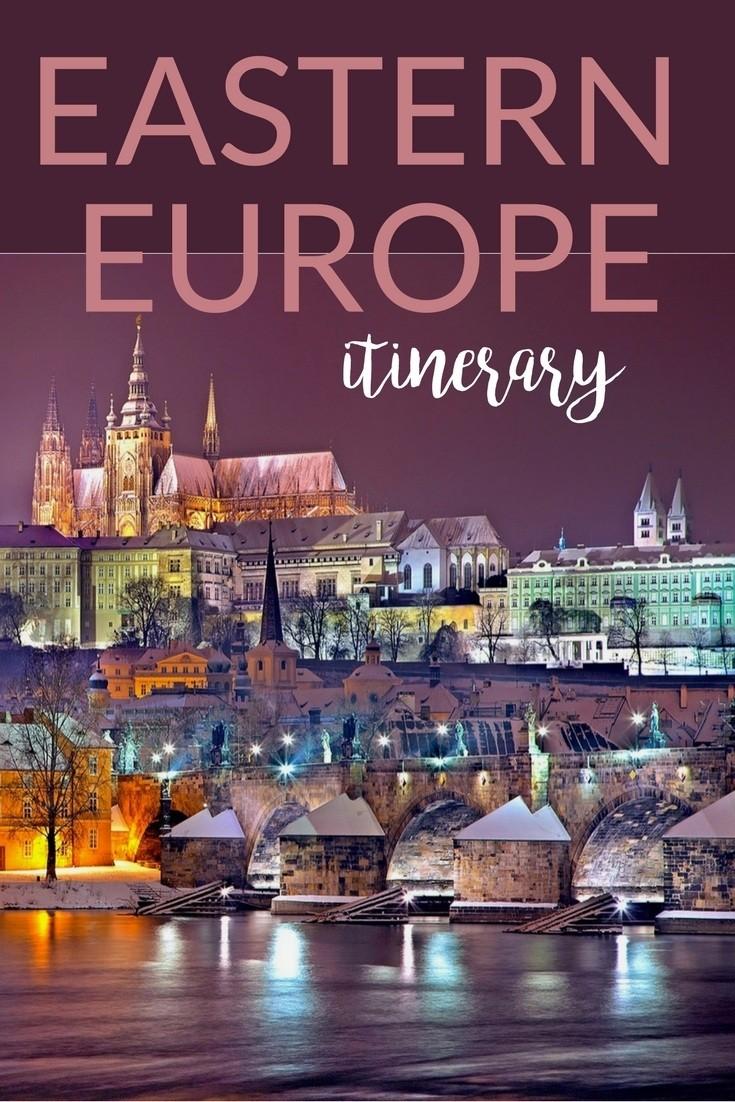 sample Eastern Europe itinerary