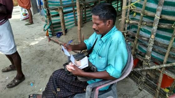 money lender fishing village