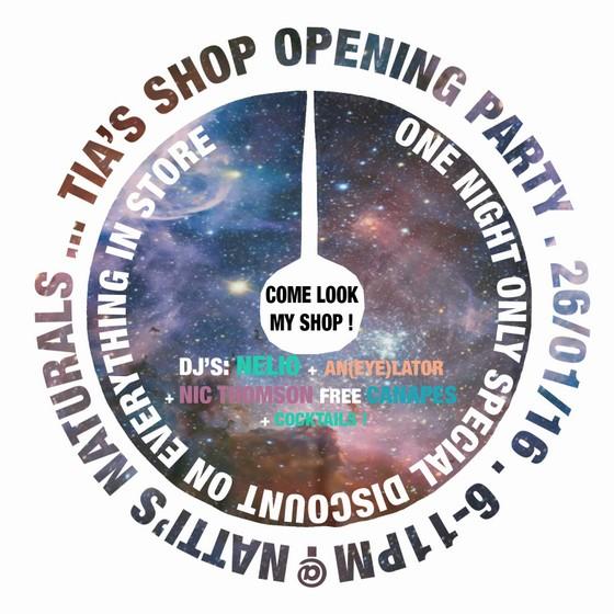 You're Invited! Tia's Shop Opening, Anjuna shopping in goa