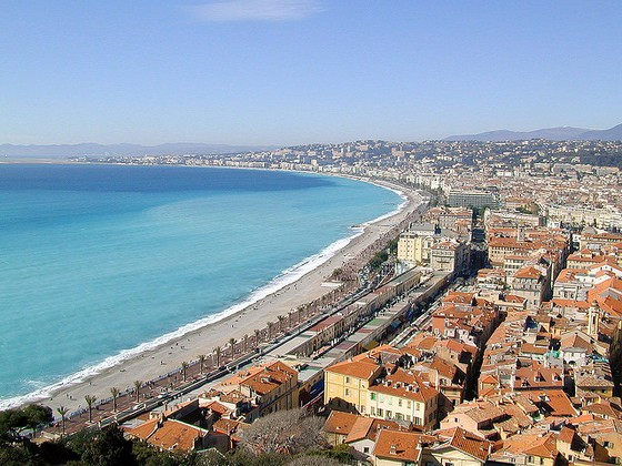 luxury guide to nice france promenade des Anglais