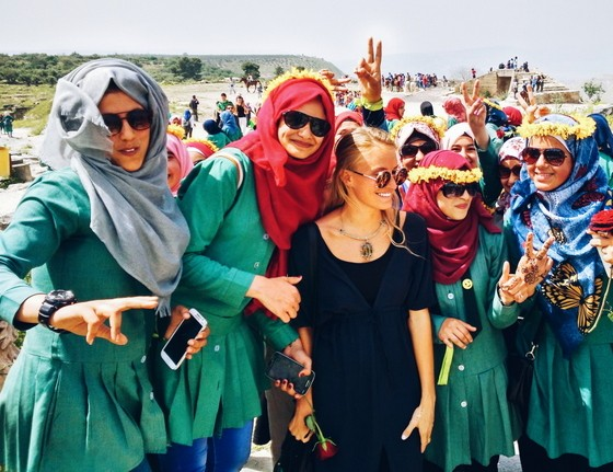 school groups at umm qais
