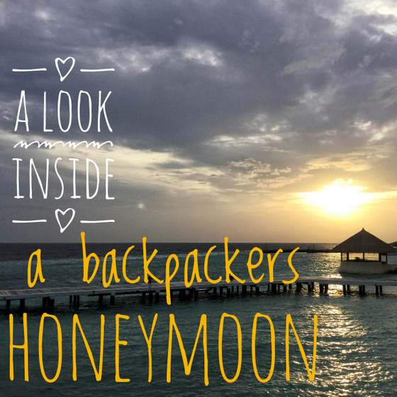 how to have a honeymoon while backpacking