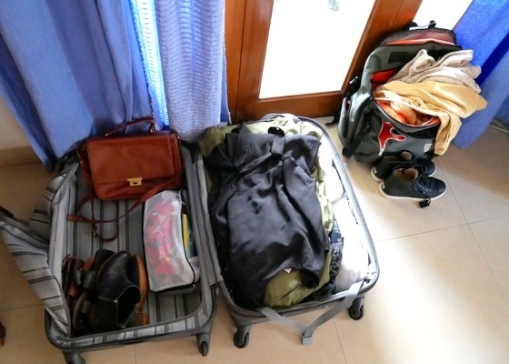 Packing for Various Regions of Long-term Travel in One Suitcase
