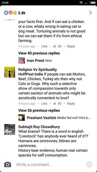 eating cats in india