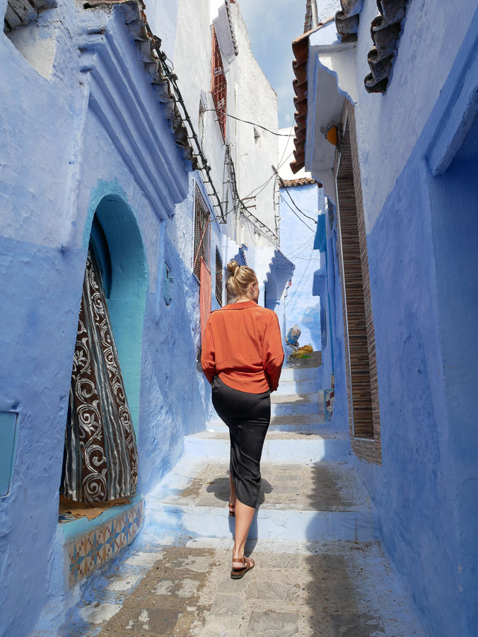 all blue town on Pinterest chefchaouen