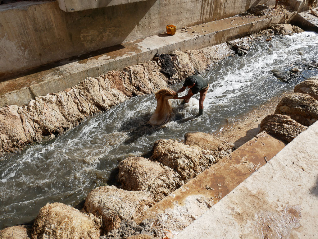 2 week morocco itinerary fes tanneries