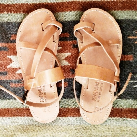 traditional greek sandals