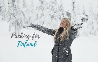 packing for finland in winter