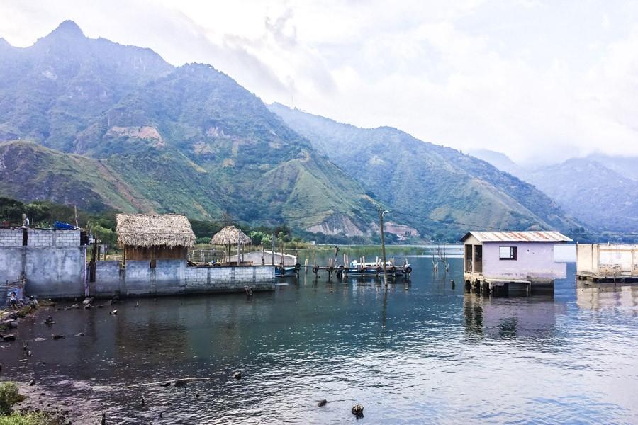 san juan la laguna lake atitlan guatemala