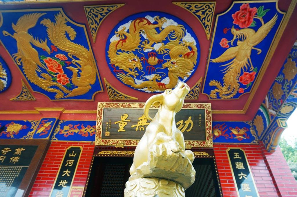 Ten Thousand Buddhas Monastery, Shatin, Hong Kong