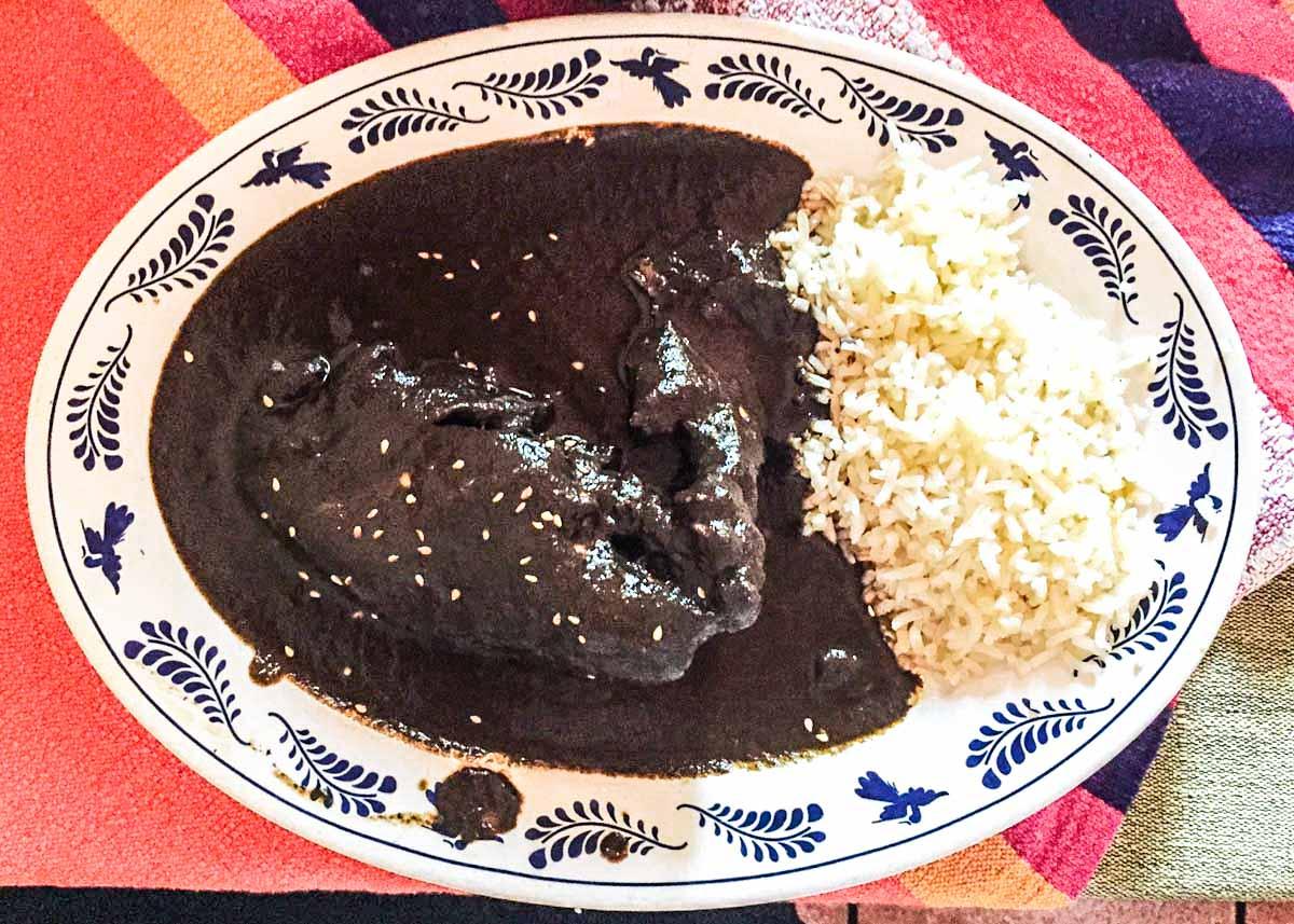 mole negro oaxaca mexico