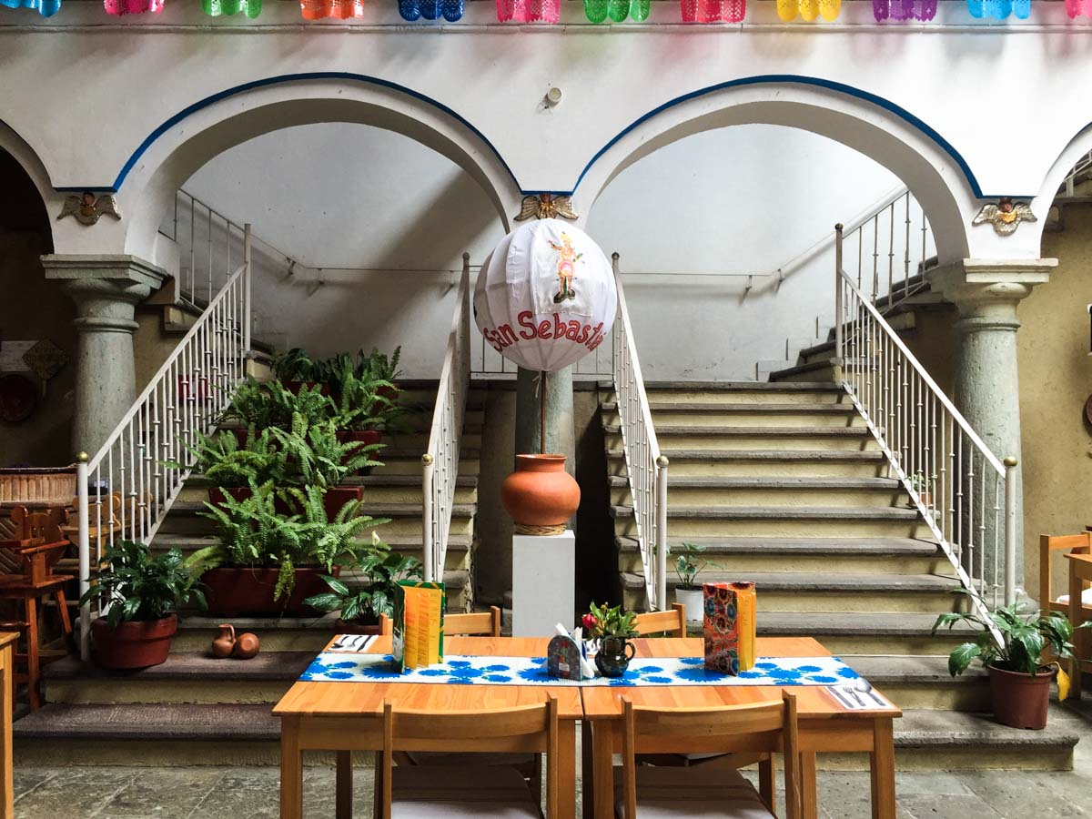 restaurant oaxaca mexico