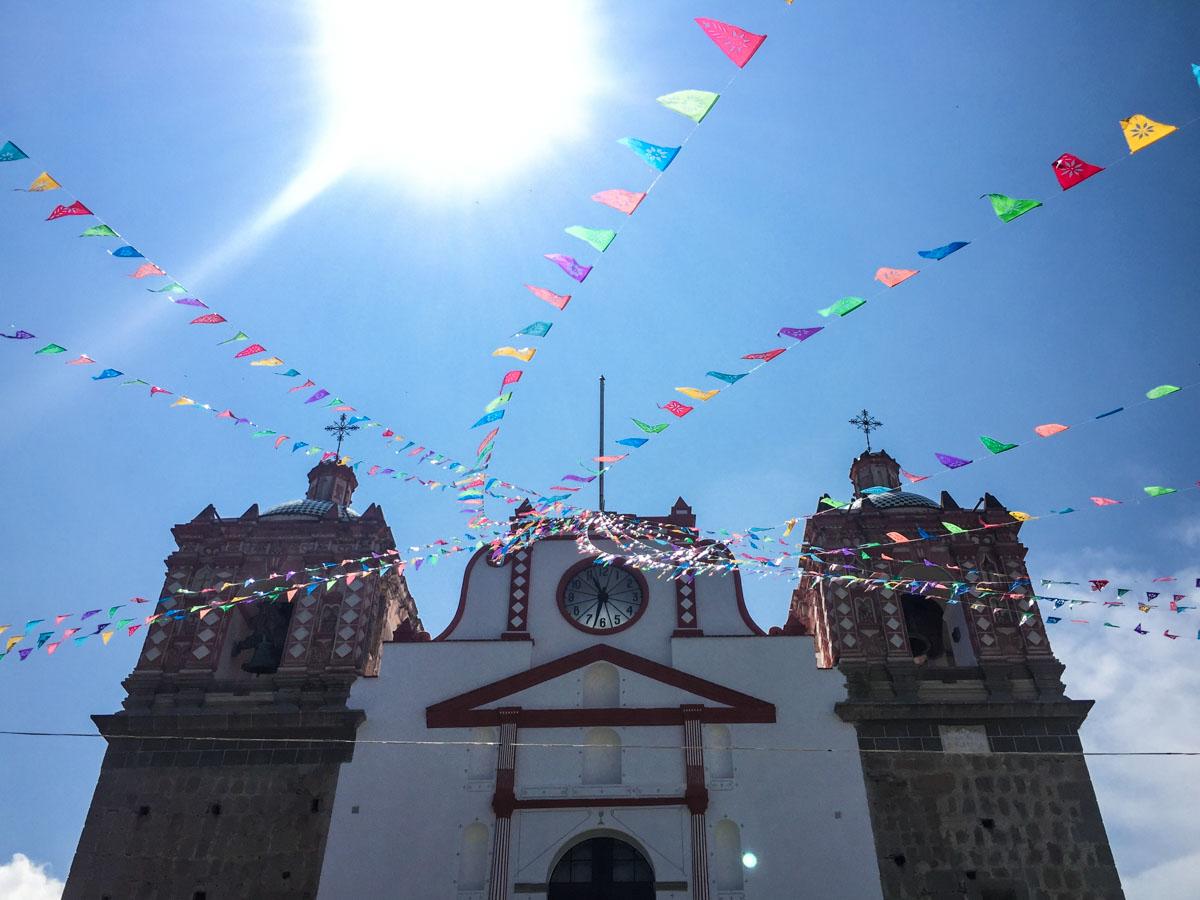 church oaxaca mexico