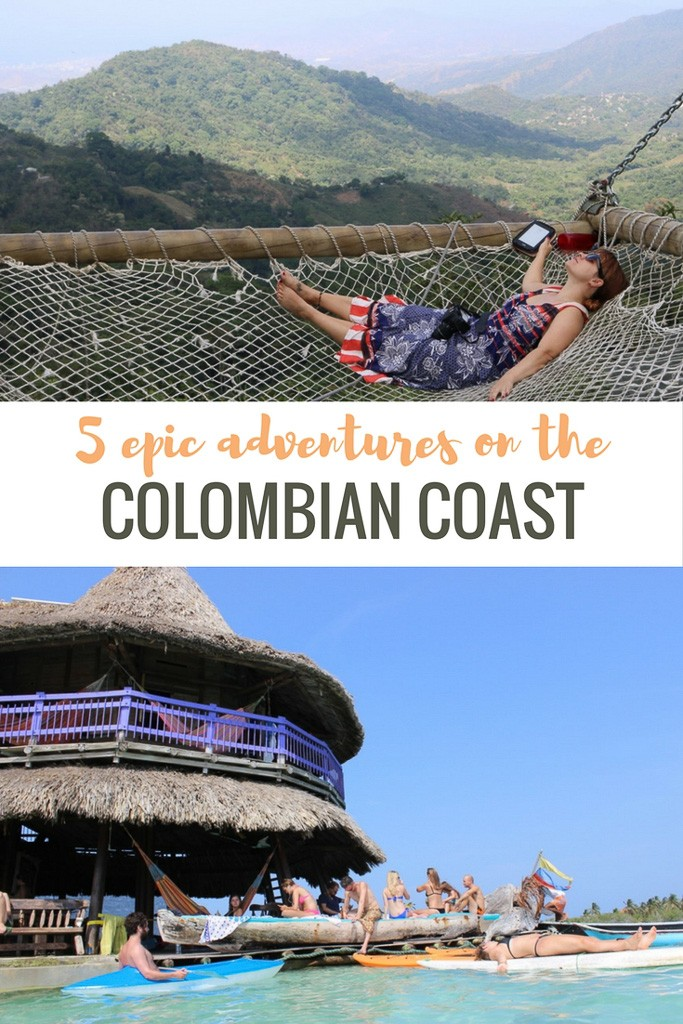 adventure on Colombian coast