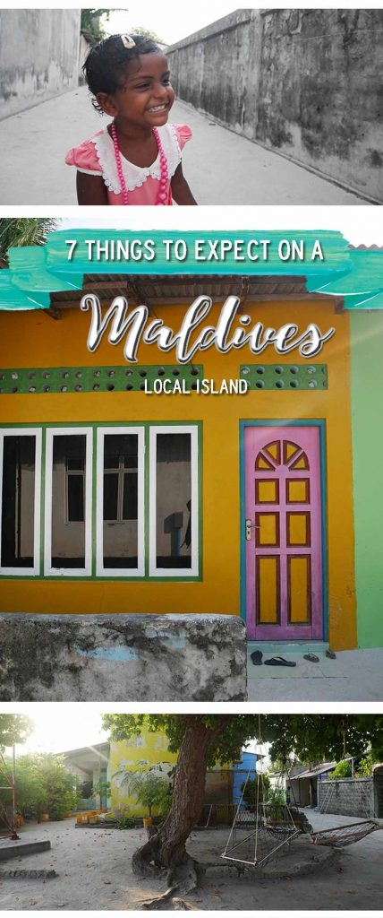 Maldives - 7 things to expect on a local island