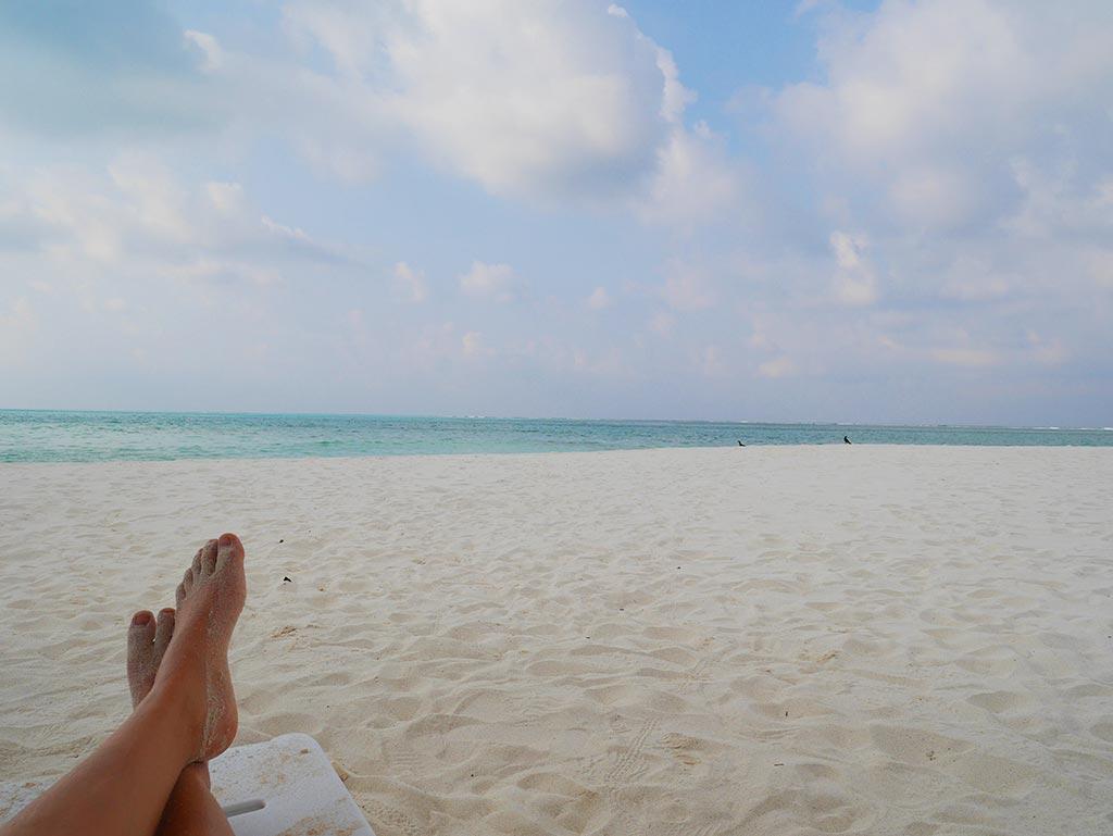 bikini beach, Gaafaru, Maldives