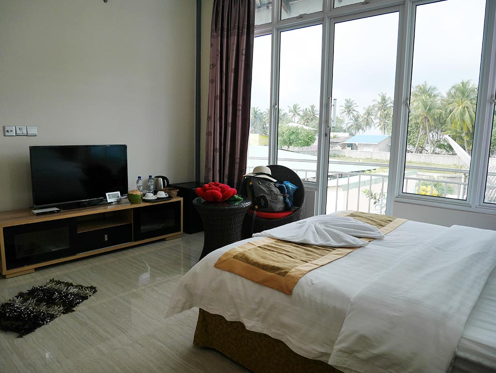 Mirian sky hotel room, Gaafaru, Maldives