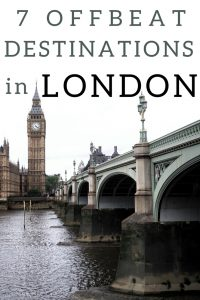 7 offbeat destinations in london
