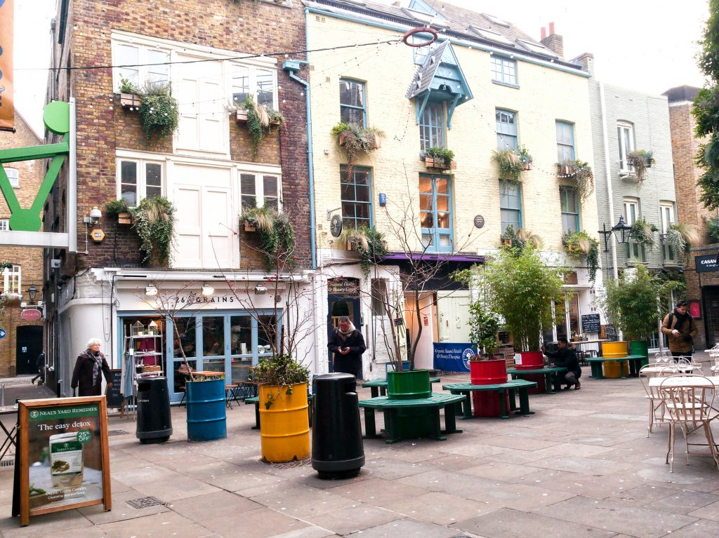 neal's yard: offbeat places in london