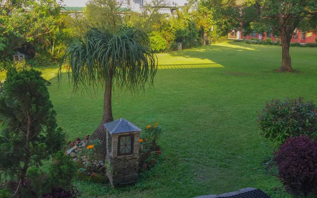 The Gardens of the Pokhara Hotel Grande