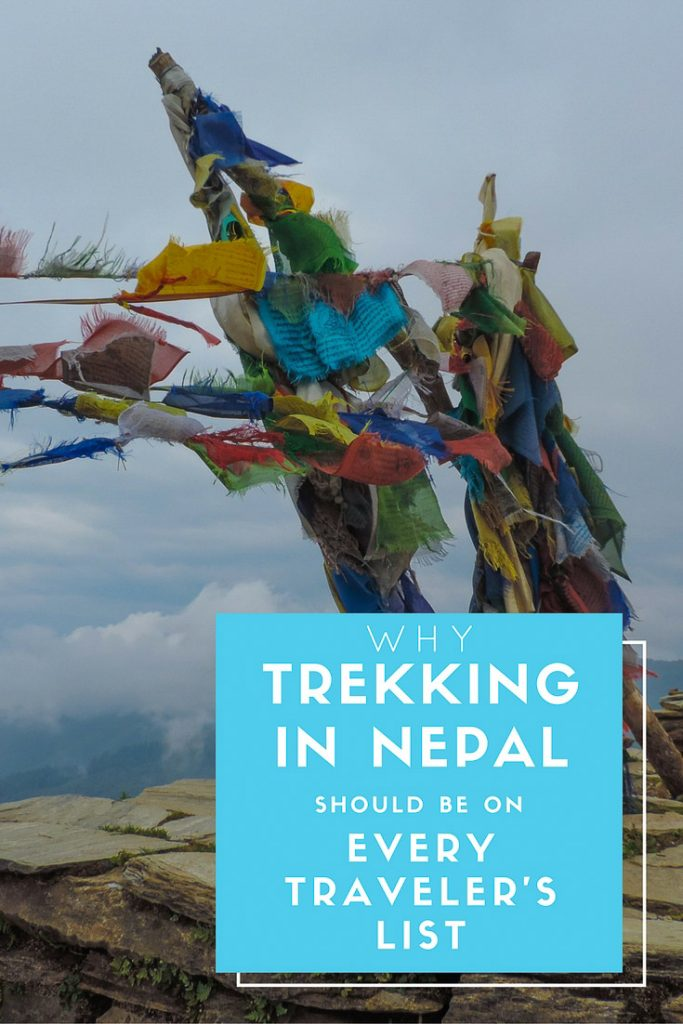 Why Trekking in Nepal should be on every traveler's list, featured pin image