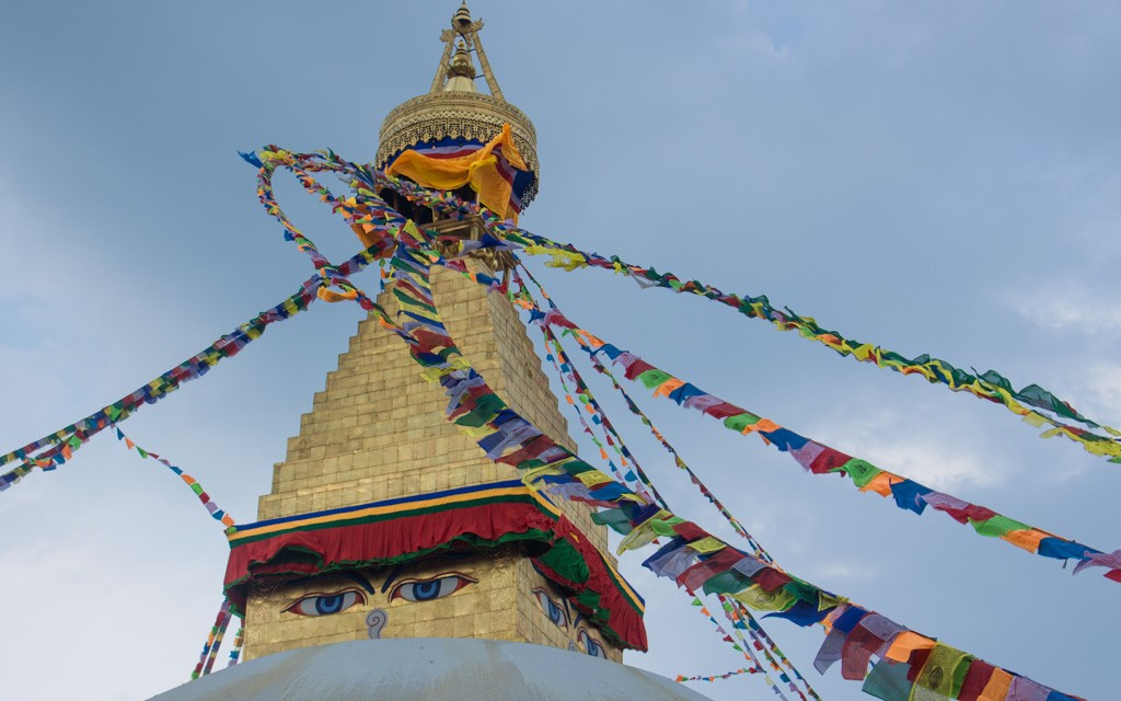 Boudhanath Temple - a must see whilst visiting Nepal