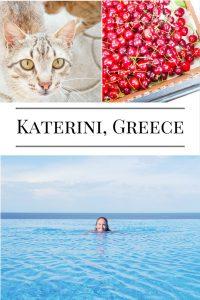 tips for visting katerini greece