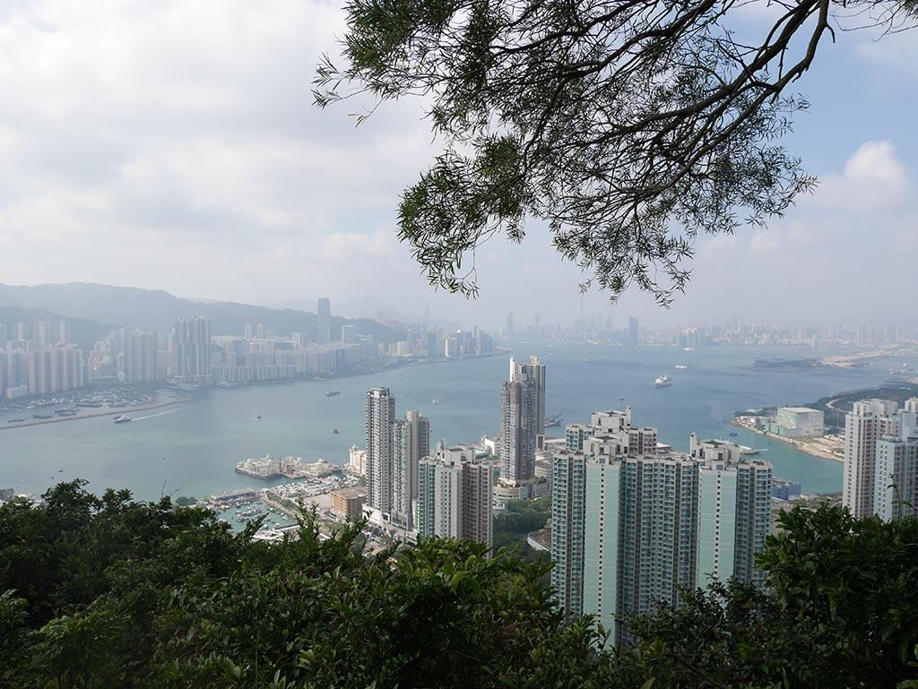 Devil's Peak view, Hong Kong