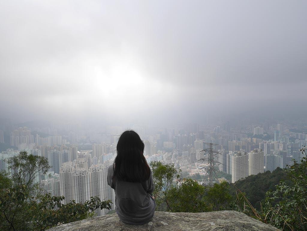 Lion Rock Mountain, Kowloon, Hong Kong