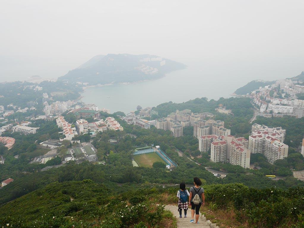 Twins Peak towards Stanley, Hong Kong