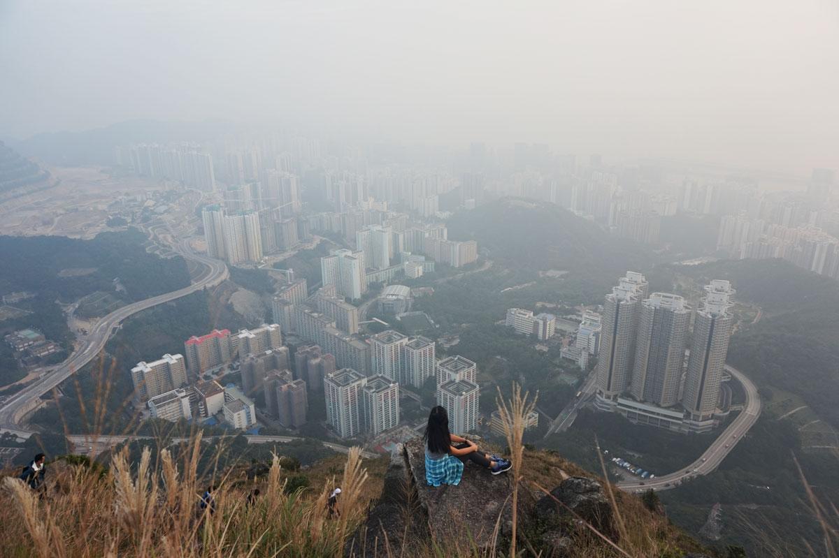 Suicide Cliff hike, Kowloon Peak, Hong Kong