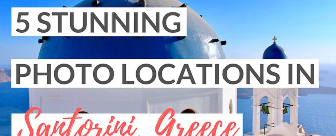 best photo locations santorini