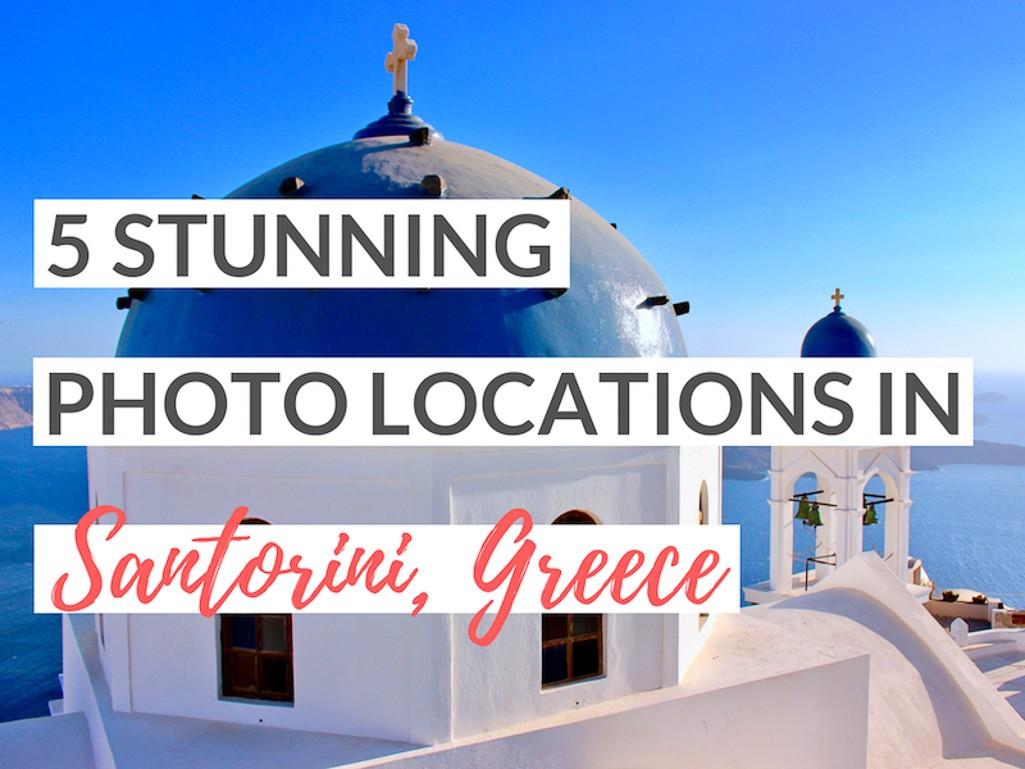 best photo locations santorini