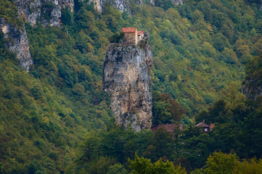 Katskhi Pillar, in the country of Georgia