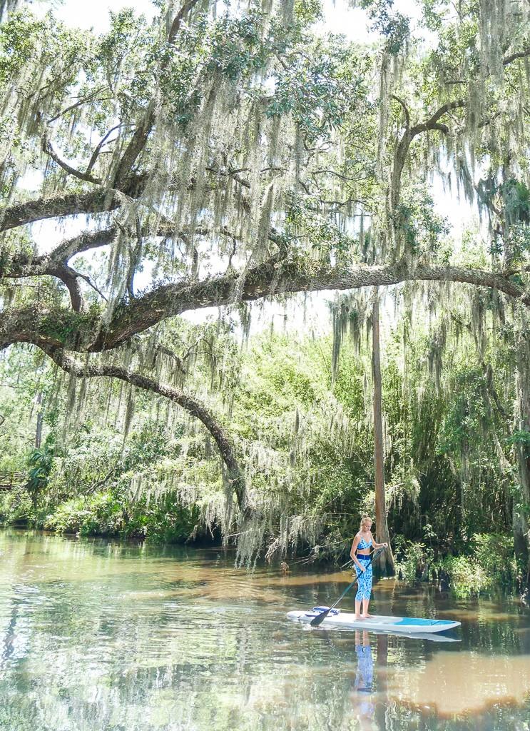 SUP on Shingle Creek